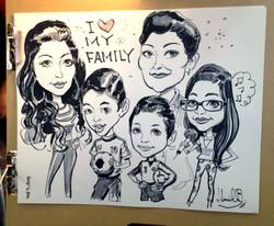 Hamid_Family_Caricature