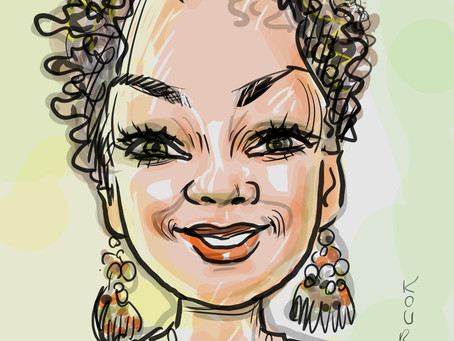 Caricature of the day - Chef Ahki