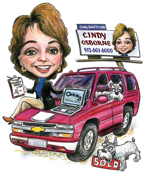 Cindy_On_Car