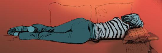Mohamad_Lady_Lying_on_Sofa