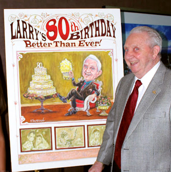 Larry_80th_Birthday_Standing_In_Front_Of_Caricature