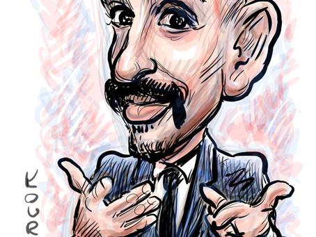Caricature of the day - Maz Jobrani