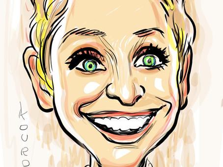 Caricature of the day - Ellen DeGeneres