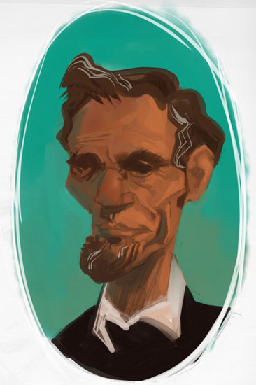 Mohamad_Lincoln_Caricature
