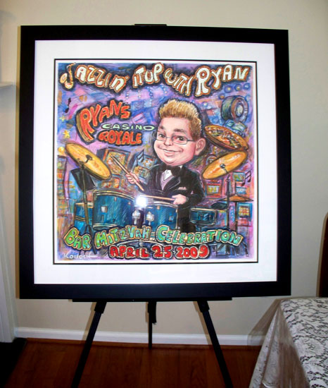 Ryan_BarMitzvah_framed_art
