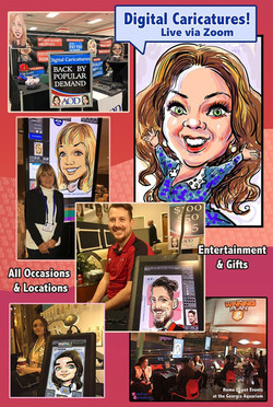 Creative-Caricatures-Poster 2
