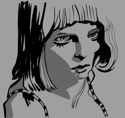 Mohamad_Sketch_Lady_in_Gray