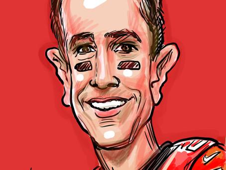 Caricature of the Day - Matt Ryan