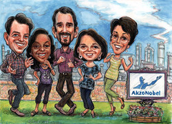 Akzo_Nobel_Chemical_Company_Group_Caricature