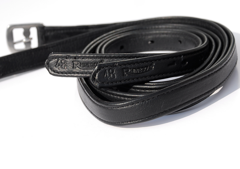 Rhinegold Softee Non Stretch Stirrup Leathers