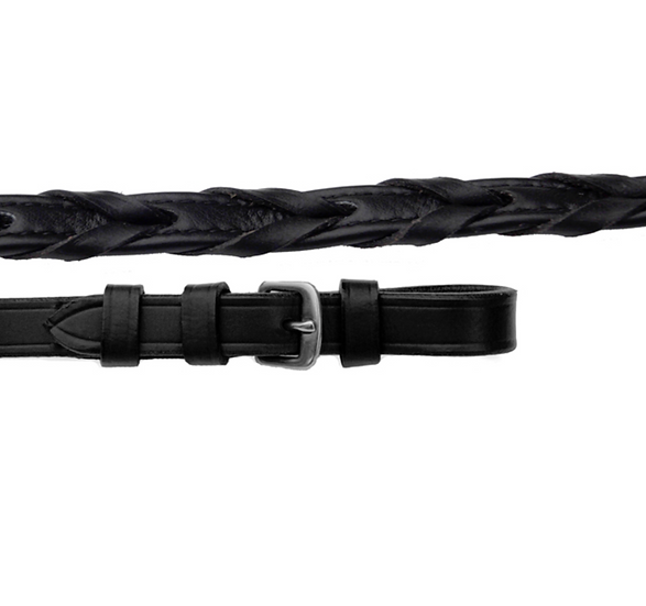 Rhinegold Luxury Softee Leather Laced Reins