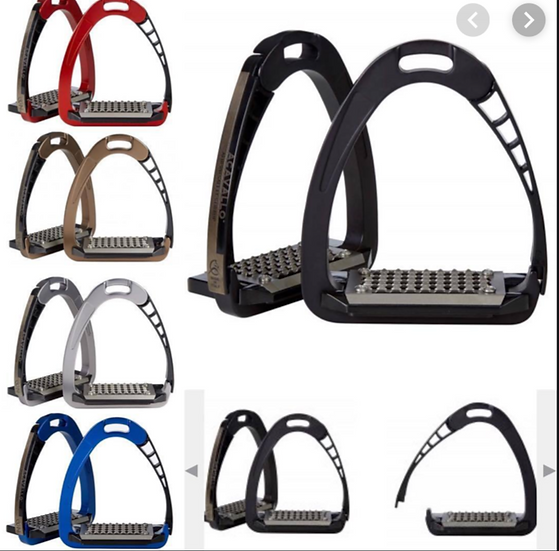Acavallo AluPro Arena Safety Stirrups