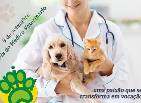 9 de setembro: hoje celebramos o Dia do Médico Veterinário
