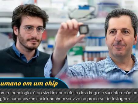Chip desenvolvido em Israel substitui animais em testes de medicamentos