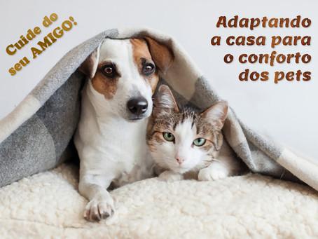 Pets e decoração: como adaptar a casa para o conforto dos animais