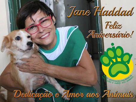 APIPA felicita Jane Haddad pelo seu aniversário