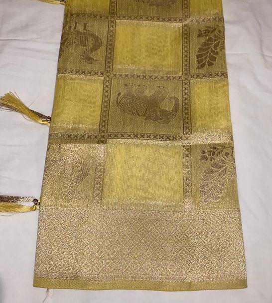 Banaras look saree