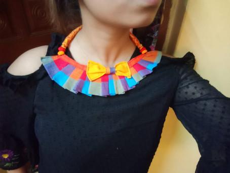 Fabric Jewellery - Trending Fashion