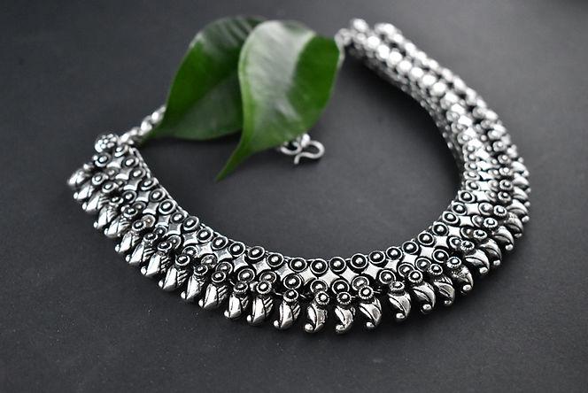 German Silver Necklace