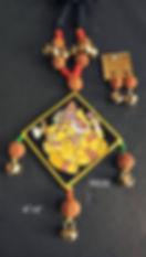 Hand Painted Tikuli Set