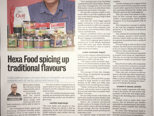 Hexa Food spicing up traditional flavours