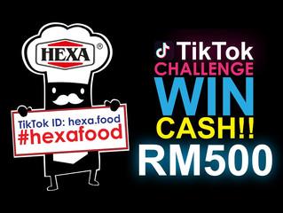 Hexa Food Tik Tok Challenge Terms & Conditions