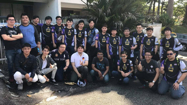For a lot of members in the photo, this is the starting journey to their first esports tournament