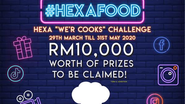 "HEXA ""We'r Cooks"" Challenge 2020"