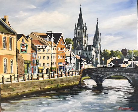 South Gate Bridge, St Fin Barre's Cathedral - Unframed