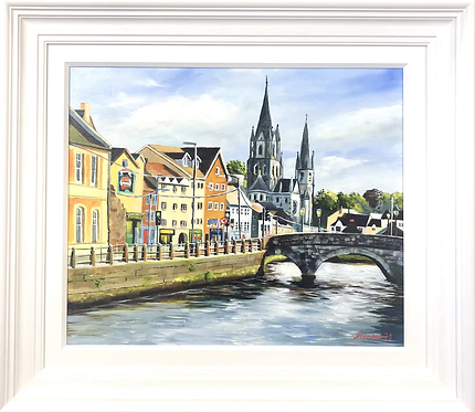 South Gate Bridge, St Fin Barre's Cathedral