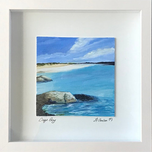 Dogs Bay, Galway-28.5 x 28.5cms Framed