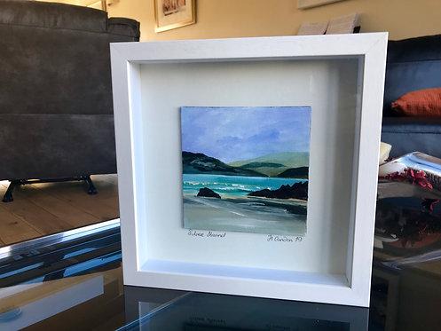 Silver Strand, 28.5 x 28.5 cms Framed