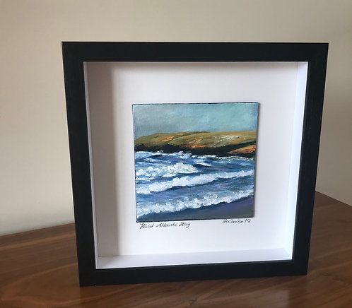 Wild Atlantic Way, 28.5 x 28.5 cms Framed