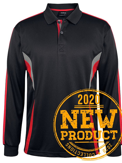 JBs Long Sleeve Cool Polo