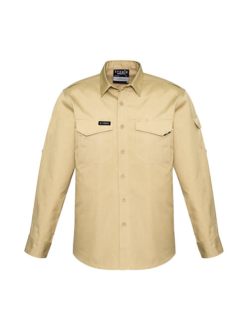 Mens Rugged Cooling Long Sleeve Shirt