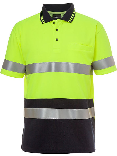 JB's Hi Vis Short Sleeve (D+N) Traditional Polo