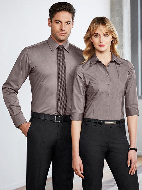 BC Mens Chevron Long Sleeve Shirt