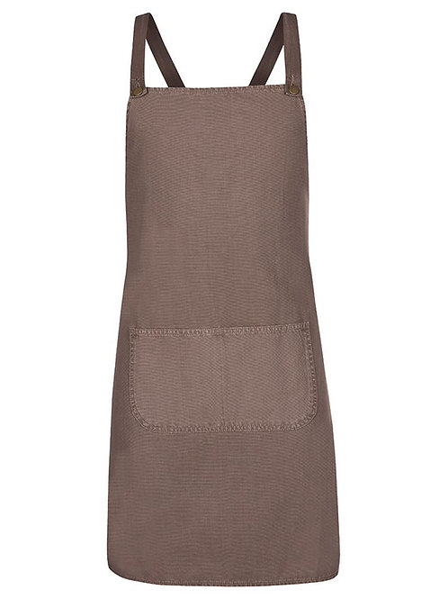 Cross Back Canvas Apron