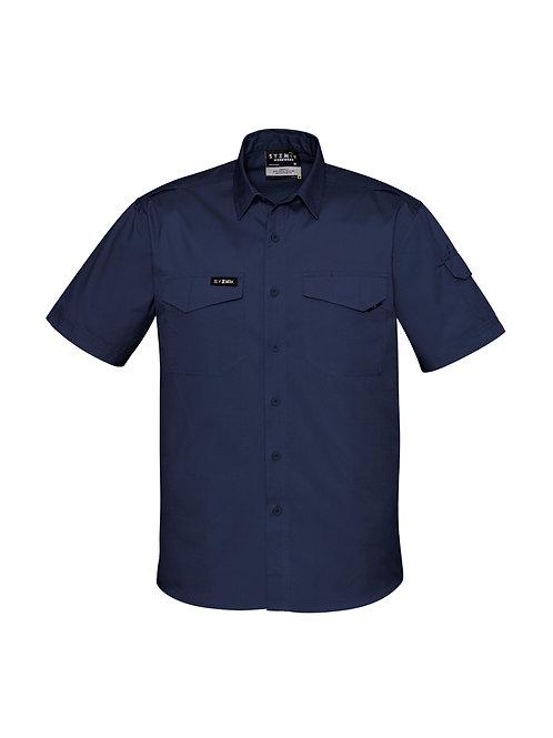 Mens Rugged Cooling Short Sleeve Shirt