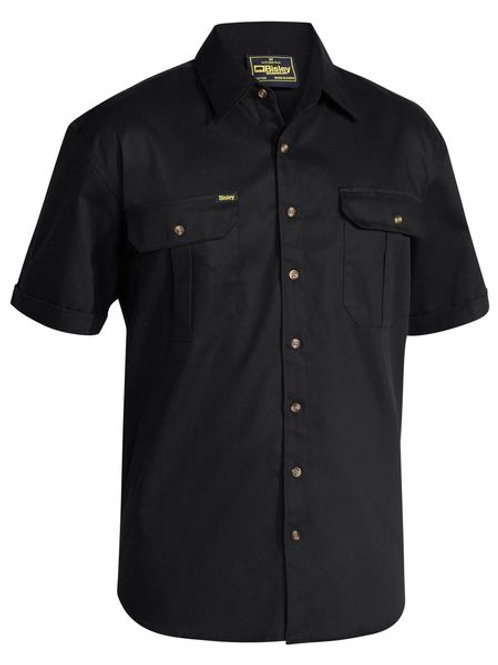 Bisley Original Cotton Short Sleeve Drill Shirt