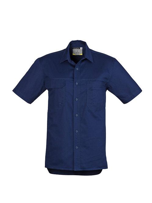 Mens Lightweight Tradie Shirt Short Sleeve