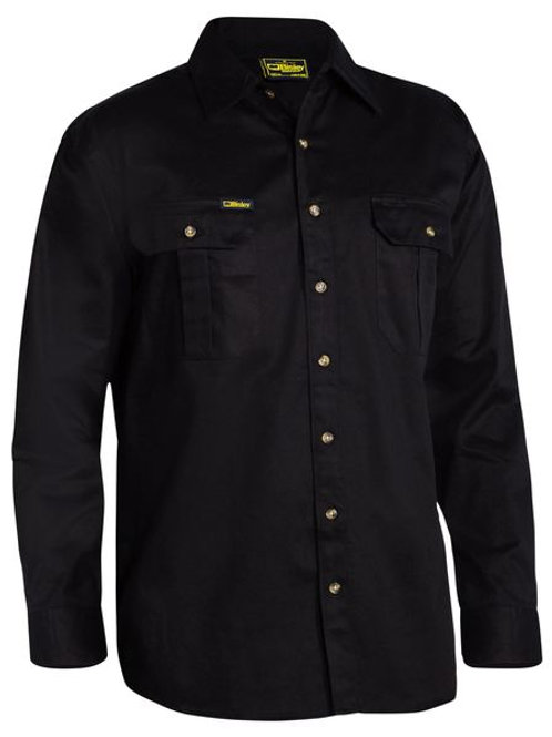Bisley Original Cotton Long Sleeve Drill Shirt