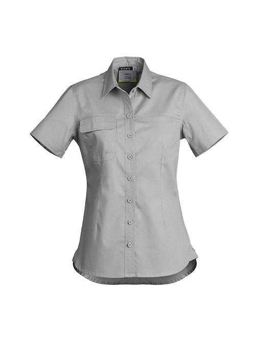 Womens Tradie Lightweight Short Sleeve Shirt