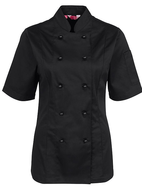 JB's LADIES S/S CHEF'S JACKET