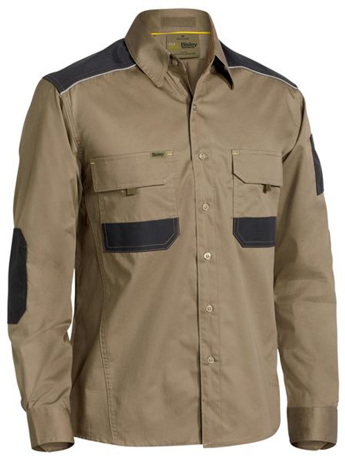 Bisley Flex & Move Mechanical Long Sleeve Shirt