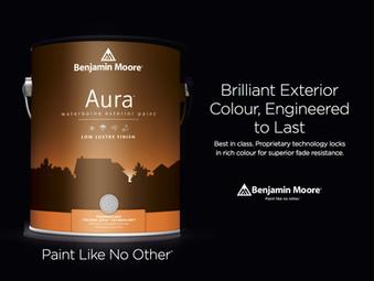 Aura Exterior Paint Lifetime Warranty
