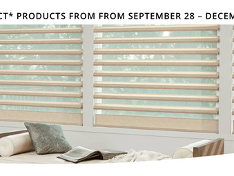 Hunter Douglas | Power Of Choice Promotion!