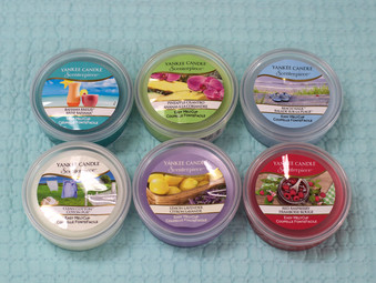 New Yankee Candle Scenterpiece Fragrances