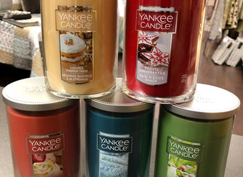 NEW Yankee Candle - Fall/ Holiday 2018 scents!