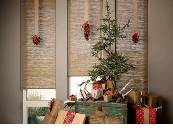 HUNTER DOUGLAS: HOLIDAY WINDOW DECORATING